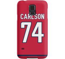 Washington Capitals John Carlson Jersey Back Phone Case Samsung Galaxy Case/Skin