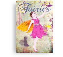 Fairy Poster Canvas Print