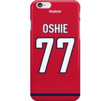 Washington Capitals T. J. Oshie Jersey Back Phone Case iPhone Case/Skin