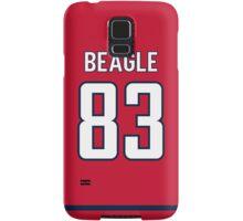 Washington Capitals Jay Beagle Jersey Back Phone Case Samsung Galaxy Case/Skin