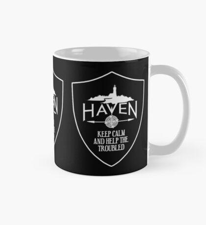 Haven Keep Calm Black Badge Logo 2 Mug