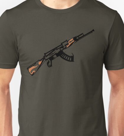 Weapon of typography Unisex T-Shirt
