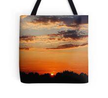 Sunset: Pa. Tote Bag
