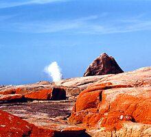 Freycinet Rocks by Michael John
