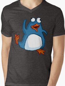 Penguin Dance Mens V-Neck T-Shirt