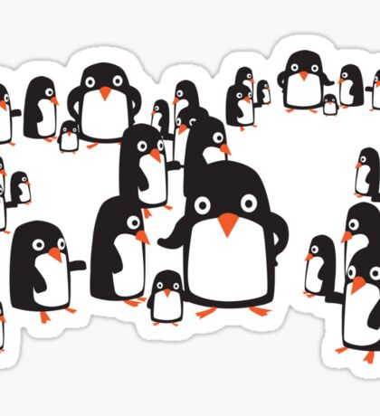 Penguin Group Sticker
