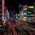 Tokyo Street Lights by MATTEOX