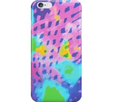 Purple Abstract Watercolor Painting iPhone Case/Skin