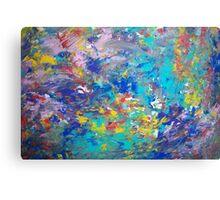Underwater Rush Canvas Print