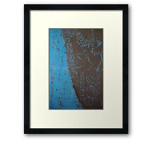 Foundation of the Stone Framed Print