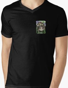 Owl old story Mens V-Neck T-Shirt