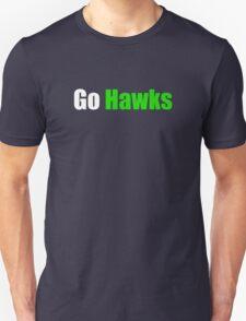 Go Hawks (Seattle) Unisex T-Shirt