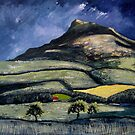 Summer, Roseberry Topping by Sue Nichol