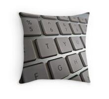 Computer keyboard Throw Pillow