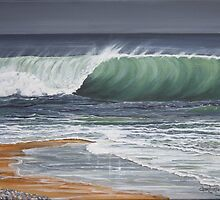 On The Crest of a Wave by Annie Lovelass