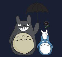 Totoro family Baby Tee