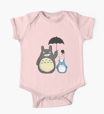 Totoro family One Piece - Short Sleeve