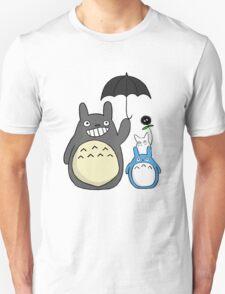 Totoro family Unisex T-Shirt