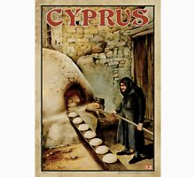 Travel Poster 11 - Baking Bread, Cyprus T-Shirt