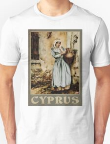 Travel Poster 08 - The water carrier, Cyprus Unisex T-Shirt