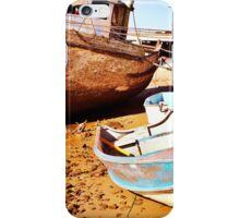 Fishing boat repairs iPhone Case/Skin
