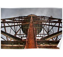 Water Tower From Below Poster