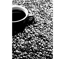 Coffee engraving Photographic Print