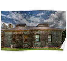 Laundry Werribee Mansion Poster