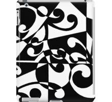 Retro One Black iPad Case/Skin