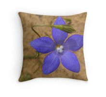 Wahlenbergia Throw Pillow