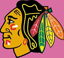 CHICAGO BLACKHAWKS LOGO by imgarry