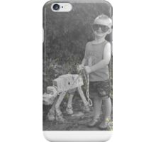 Walker Walkies iPhone Case/Skin