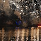 Fireworks at Epcot by Gareth Jones