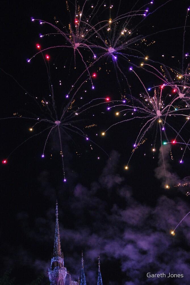 Magic Kingdom Fireworks by Gareth Jones