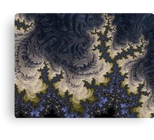 Fractal Ice Canvas Print
