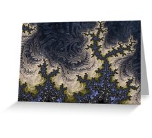 Fractal Ice Greeting Card