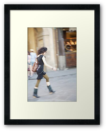 peoplescapes #218, on the move  by stickelsimages
