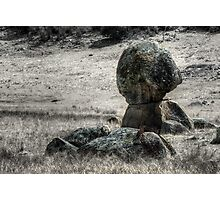 Some Rocks and a Bit of Barbed Wire - Mk II Photographic Print