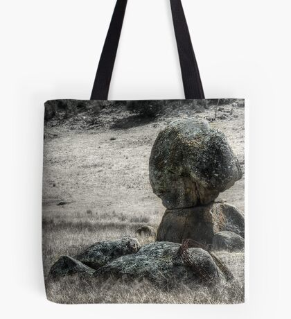 Some Rocks and a Bit of Barbed Wire - Mk II Tote Bag
