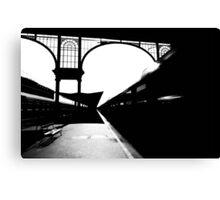night train from nyugati Canvas Print