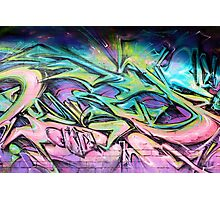 Graffiti Street Art, Melbourne Photographic Print