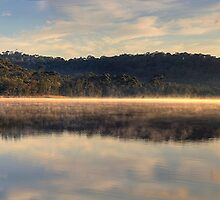 Morning  Has Broken (50 Exposure HDR Panoramic) Narrabeen Lakes, Sydney - The HDR Experience by Philip Johnson