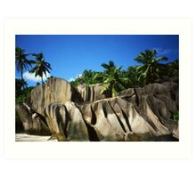 La Digue (Seychelles) Art Print