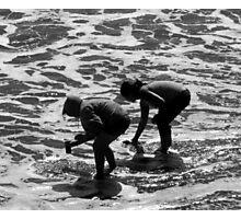 """Sandcrab Scavengers"" Photographic Print"
