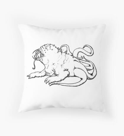 A Hideous Monstrosity Throw Pillow