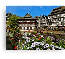 Strasbourg in bloom Canvas Print