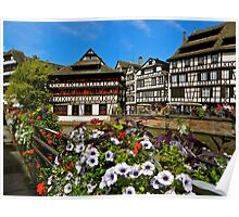 Strasbourg in bloom Poster
