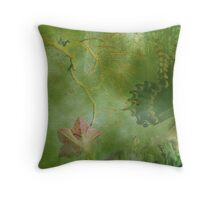 Painterly Butterfly Throw Pillow