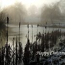 Morning On The Golf Course - Christmas Card by Samantha Higgs