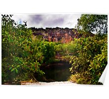West Arnhem Land  - Billabong 1 Poster